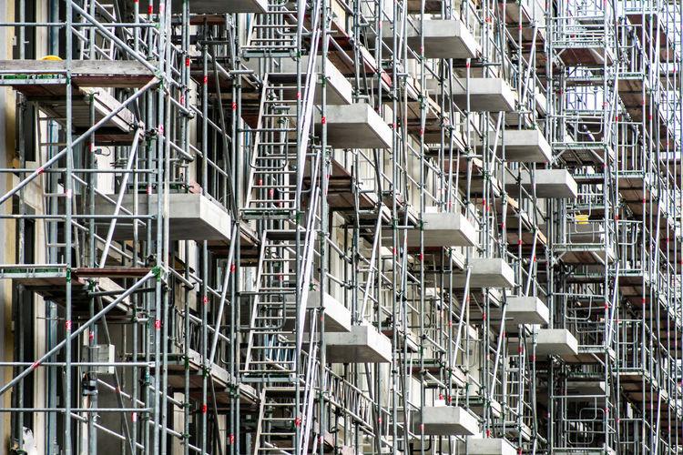 Full Frame Shot Of Incomplete Buildings