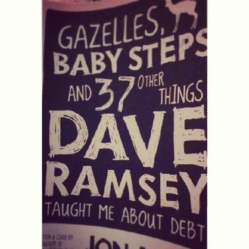 This is a great read. Laughing Punchfearintheface Debtfree Daveramsey jonacuff read study knowledge