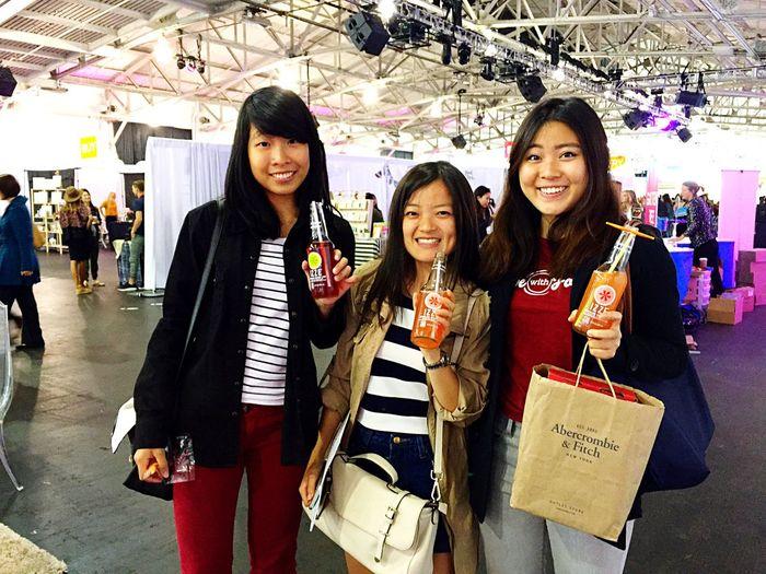 San Francisco Fort Mason California Love Ladies Having Fun Moments Izze Smiling