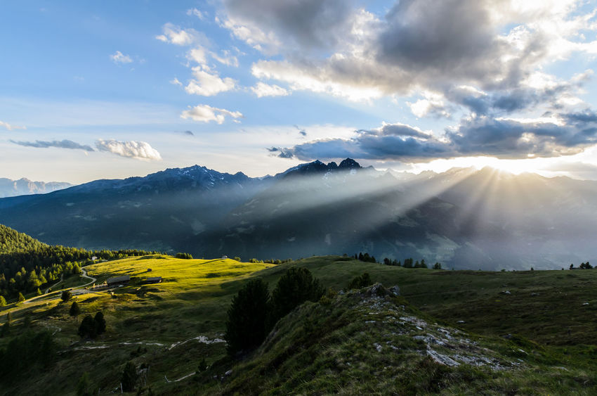 Mohar Austria Beauty In Nature Cloud - Sky Day Dramatic Dramatic Sky Landscape Mountain Mountain Range Nature No People Outdoors Scenics Sky Sunset Tranquil Scene Tranquility