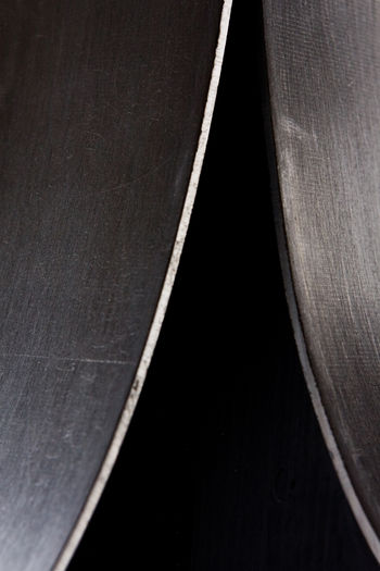 Abstract Backgrounds Black And White Black Background Black Color Close-up Geometry Indoors  Metal Minimalism No People Steel Steel Structure  Studio Shot Textured