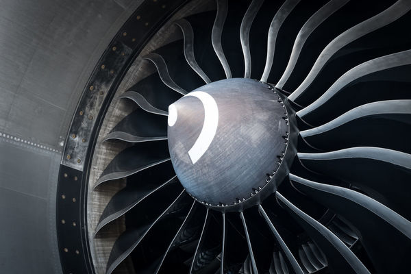 Rotor Aircraft Airliner Airplne Architecture Close-up Day Engine Indoors  Jet No People Technology