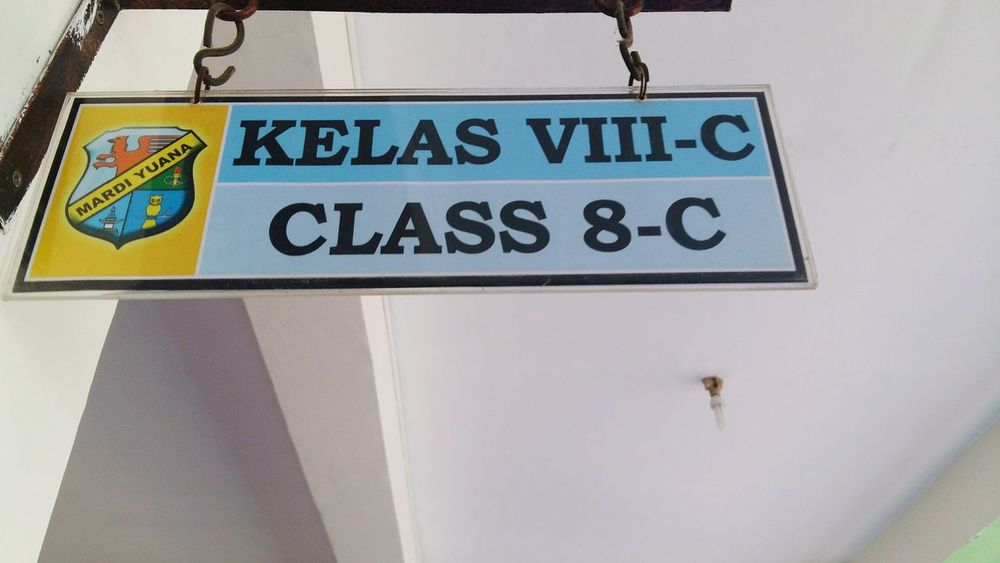 It was 4 years ago when i first sat in this class. Time really goes fast, eh? School Life  Juniorhighschool