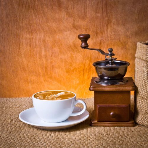 Coffee set Coffee Cup Coffee - Drink Wood - Material No People Brown Indoors  Wood Paneling Close-up Day