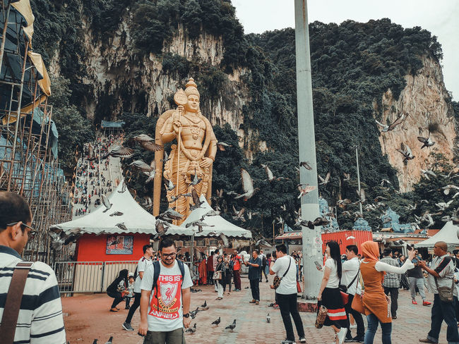 Batu Caves Statue Buddha Golden Color The Great Outdoors - 2018 EyeEm Awards