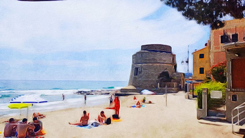 Art ArtWork Art, Drawing, Creativity My Artwork Getting Inspired Getting Creative Beach Ocean Tower Real People Summer Views Summer Sand Water Lifestyles Life Is A Beach Relaxing Holidays At The Beach Italy Sunny Day EyeEm Gallery The Essence Of Summer People Of The Oceans