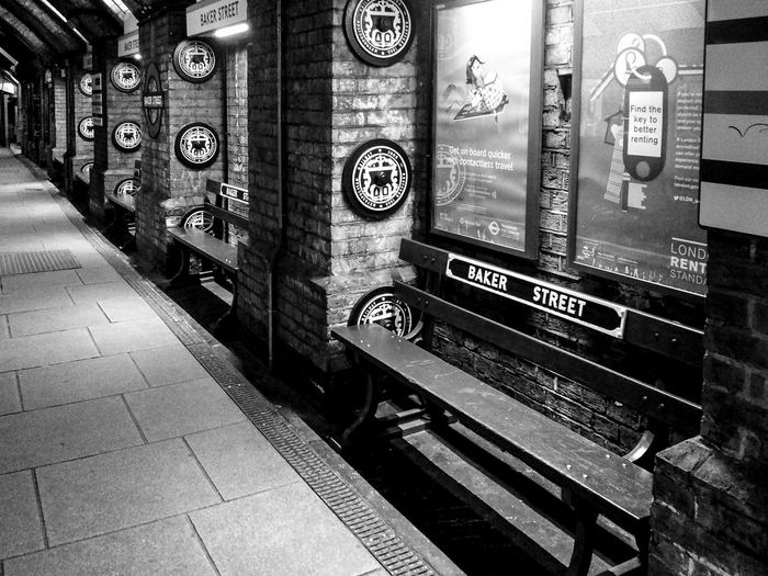 beneath the surface Bakerstreet Bench Black & White Black And White Black And White Photography Black&white Blackandwhite Blackandwhite Photography Eye4photography  EyeEm EyeEm Gallery Subway Subway Station Underground Underground Station  My Favorite Place Monochrome Photography London Lifestyle