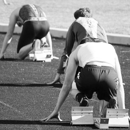 The race LightingBlackandwhite Photography Blackandwhite Track And Field Sport Sports Photography Running Athelete Emotions Interesting Photography Atheletes Athletics