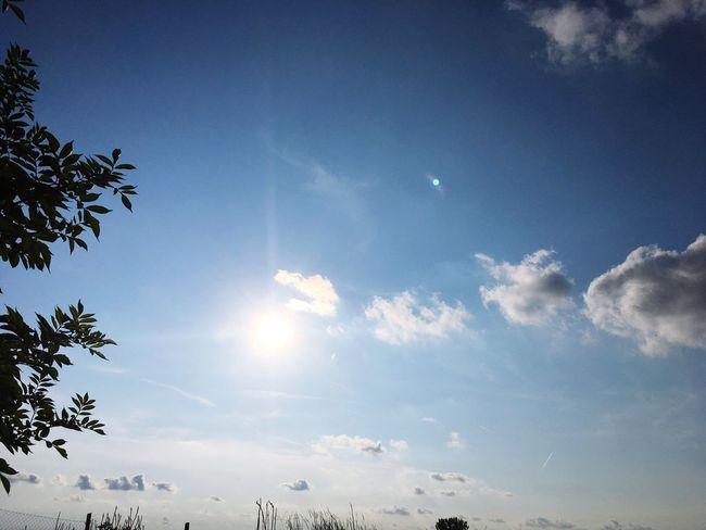 Clear sky over Balaton