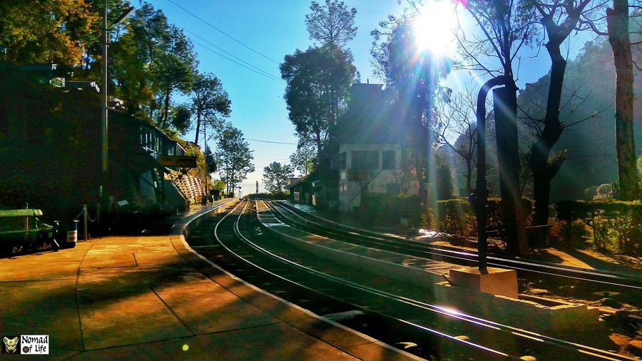The Barog railway station... Train Station Train Railroad Track Railway Traveldiaries Wanderlust Wanderer Picoftheday Pic Pictures Scenery Peace Serene Explorer Blogger Lifestyle Happy Goodvibes Follow4follow Like4like Outdoors Tunnel Shadow High Green Tree Architecture Built Structure Land Vehicle