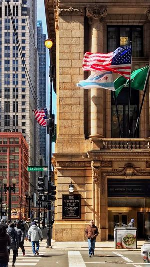 🌬🇺🇸Windy City Cornerstone ⚖️🏨 Love My 📷📲 My City Love Patriotism Flag Chicago Architecture Chicago Cityscape City Architectural Column Architecture_collection Architecture Urban Skyline Urban Street Photography Streetphotography Street EyeEmNewHere EyeEm Best Shots EyeEm Architecture Built Structure Building Exterior Stories From The City