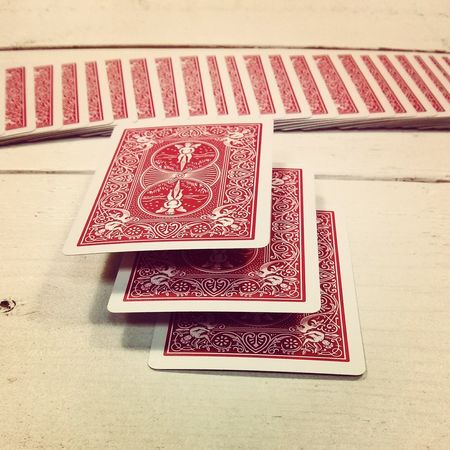 Levitation Floating Magic Poker Playingcardart Playing Cards