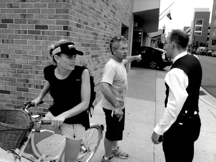 QVHoughPhoto Ironman IronmanWisconsin Wisconsin Madison Blackandwhite Streetphotography IPhoneography IPhone4s Streetphoto_bw