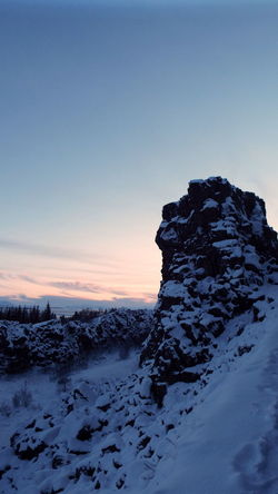 Beauty In Nature Cold Temperature Day Golden Circle Landscape Mountain Nature No People Outdoors Pingvellir Scenics Sky Snow Sunset Thingvellir Winter