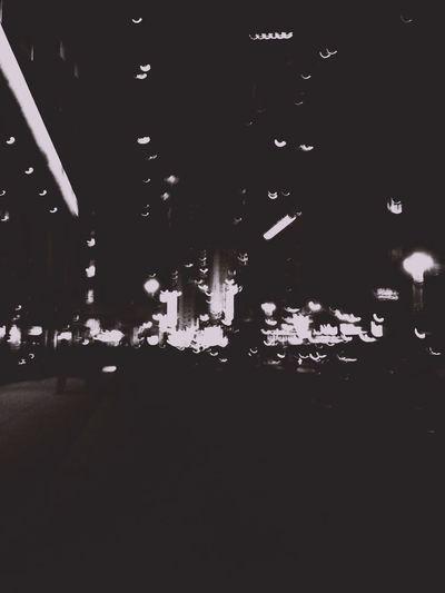 Blackandwhite City Life City Lights New York Blur Dark White Light EyeEmNewHere