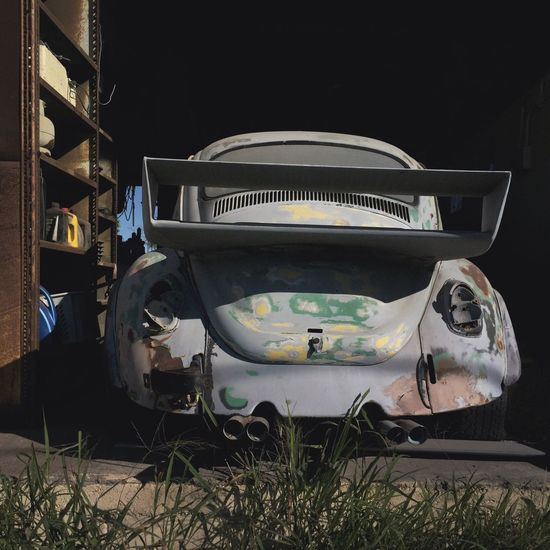 Vdub Volkswagon Beetle Abandoned No People Outdoors Old-fashioned Day Grass Close-up Sommergefühle