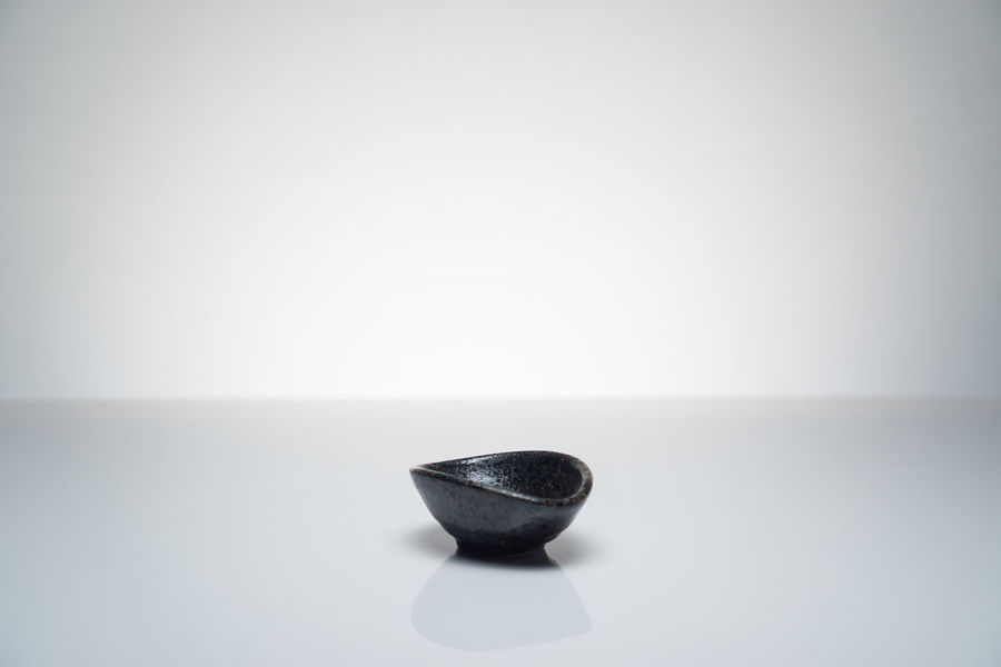 Japanese ceramic soy dipping bowl Beverage Japan Japanese  Sushi Ceramic Bowl Dipping Sauce Food Is Sillouette Soy Traditional White Background