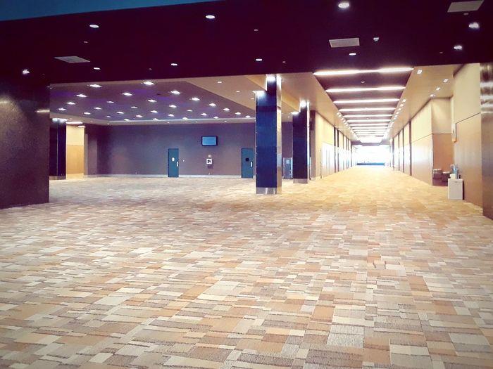 lone hallway