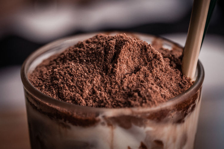 Chocolate Milkshake with Cocoa Powder Food And Drink Chocolate Dessert Food Sweet Food Brown Close-up Sweet Cocoa Delecious Isolated Milk Milkshake Cocoa Powder Glass Cold Drink Ice Ice Cream Powder Sugar Topping Coffee Whipped Cream