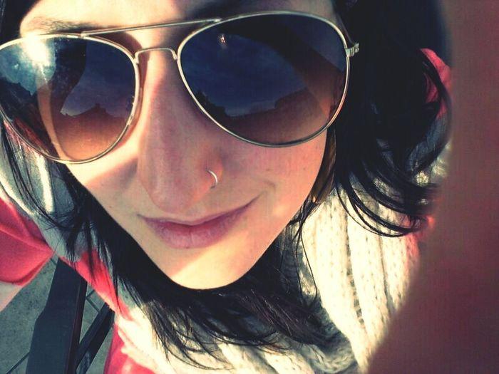 Enjoying First Sunshine.
