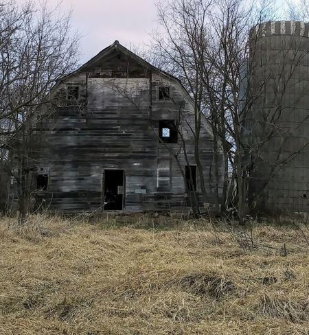 No People Outdoors Day Built Structure Old And Tired Abandoned Minnesota Barn Seen Better Days