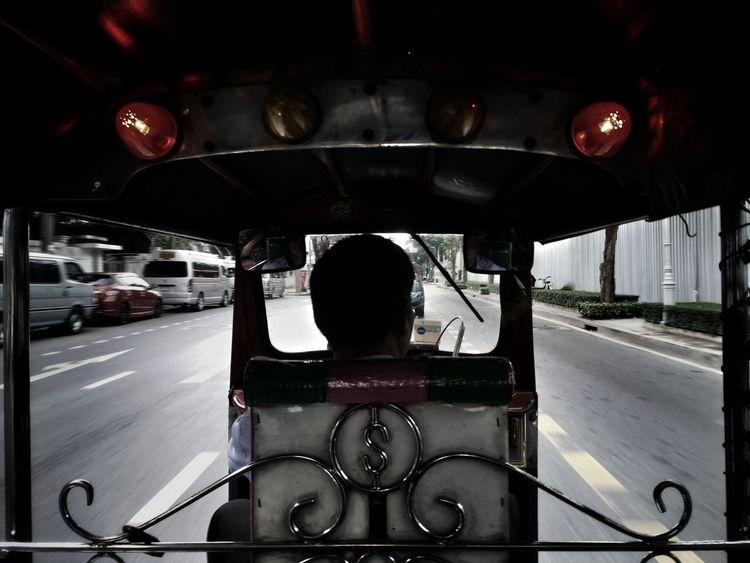 Tuktuk Thailand InTheRoad Chilling ✌ Bkk Thailand 😂