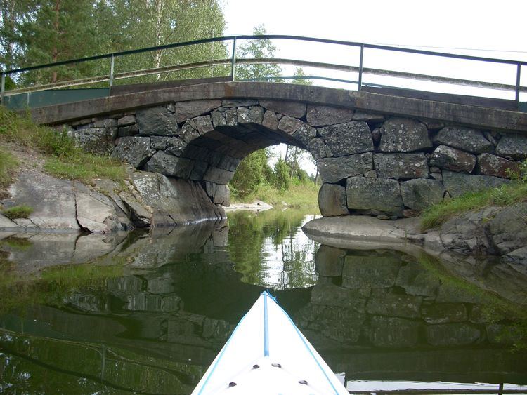 Travel in Sweden Arch Arch Bridge Bridge Bridge - Man Made Structure Canal Kayak Kayaking Outdoors Tranquil Scene Tranquility Water Neighborhood Map