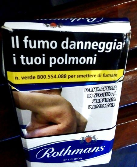 CigarettePacks Health Cigarette Packets Cigarette Packet Smoking Kills Quit Smoking  One Person Cancer Sticks Coffin Nails Danger Rothmans Cancer Cancerawareness Fumo Fume Cigarette  Tobacco Carcinogenic Check This Out Taking Photos Communication Text Close-up Information Warning Sign Warning Smoking