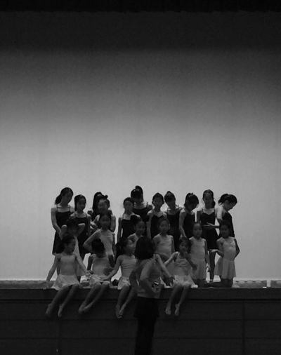 Gymnastic Rythmic Girls Blackandwhite Photography Black & White Blackandwhite Rhythmic Gymnastics