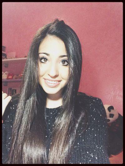 Smile Girl Italiangirl #brunette #blode #swag Ciau ❤️