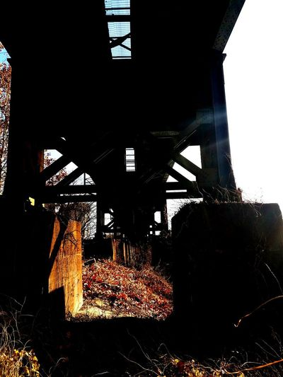 Under the Tracks Bridge - Man Made Structure Architecture Built Structure Arch Day Sunlight No People Outdoors