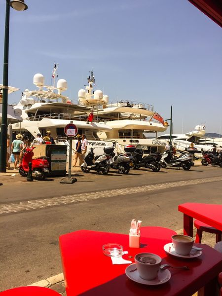 Bon Appetit Quality Time Summertime Enjoying The View Enjoying The Sun Yacht Boats Hanging Out Enjoying Life On A Holiday