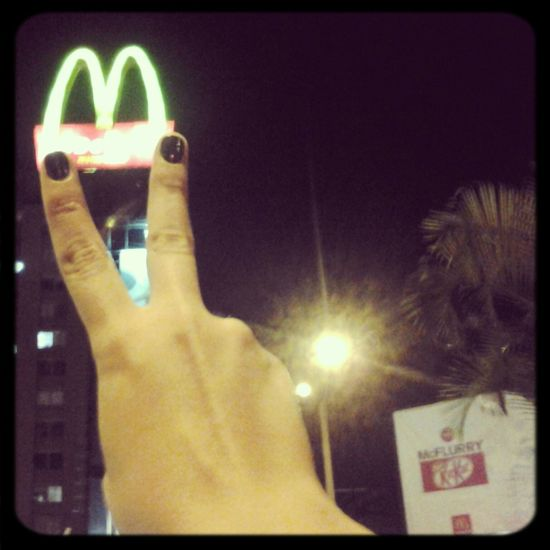 I DON'T CARE , I LOVE IT McDonald's Hi! Hello World
