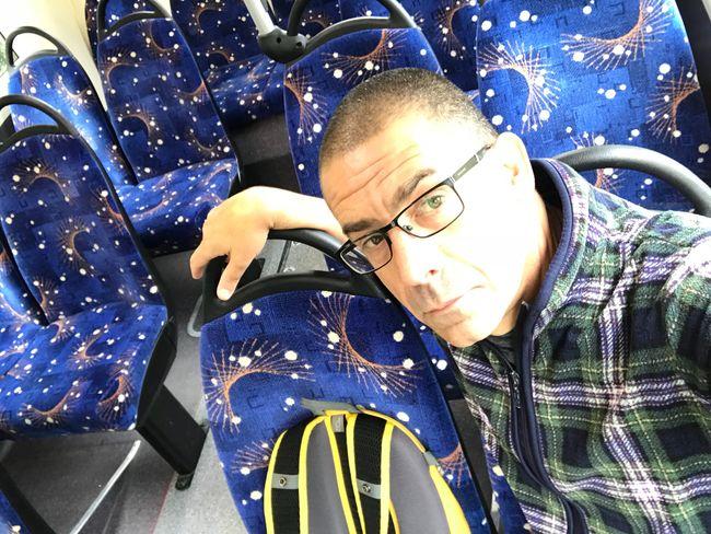 On the 98 Commute Self Portrait Selfie ✌