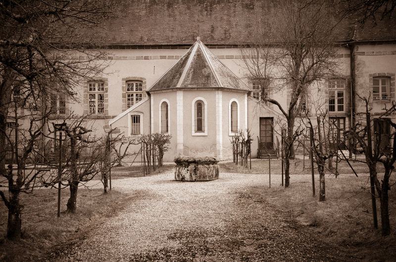 Architecture Building Exterior Built Structure Christianity Day Exterior Façade Garden God Grass Historic Historical Building History House Lawn Medieval Monastery Narrow Old Outdoors Religion Residential Structure Roof Tree Window