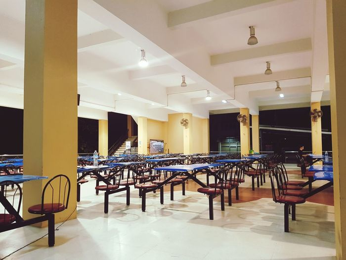 late night Faculty Of Engineering Cafeteria