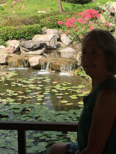 Araceli en los Jardines de México, en el rincón japonés. Enjoying Life Puente de Ixtla, Estado de Morelos, México. Enero 2016. First Eyeem Photo