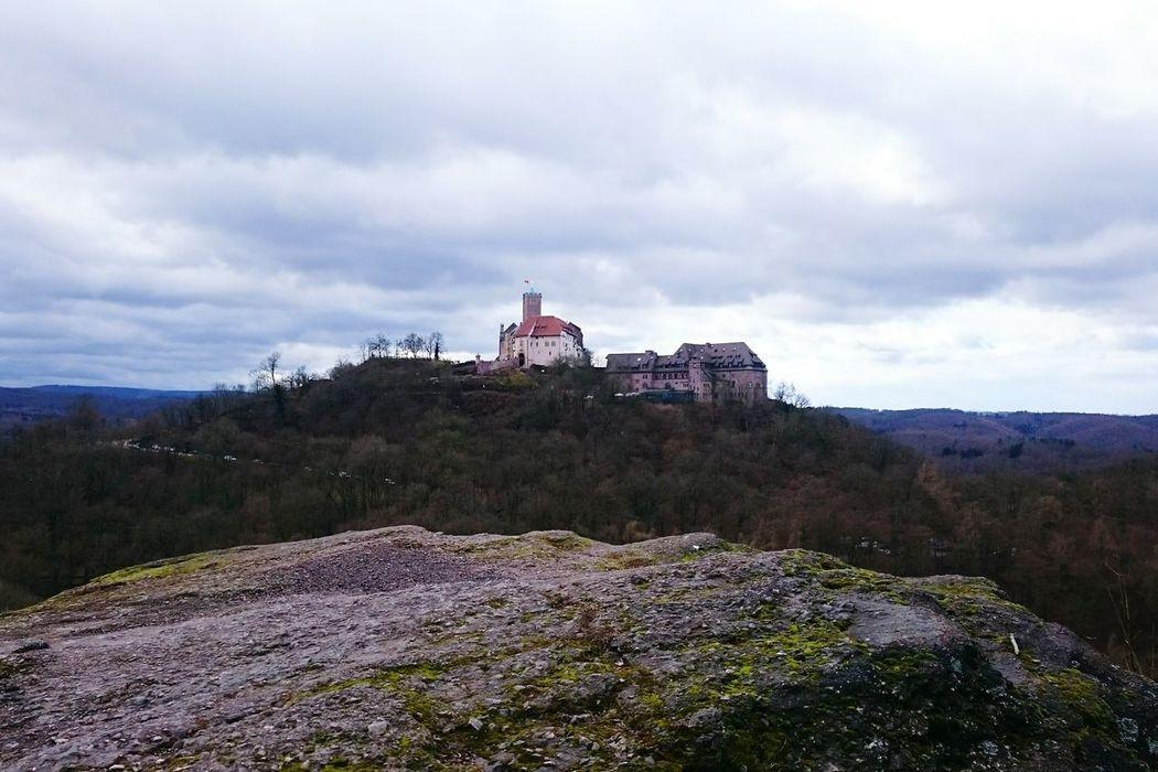 Wartburgblick vom Metilstein Wartburg Eisenach Castles