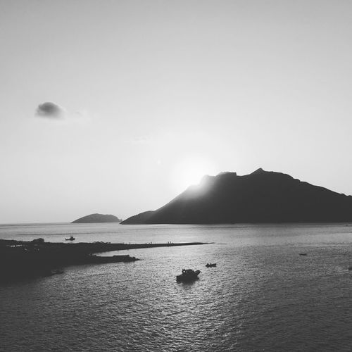 Big blue in bnw Sea Blackandwhite Photography Blackandwhite Black And White Sea And Sky Beach Photography AMPt_community Eye4photography  Holidays Holiday Greek Islands Holidays ☀ Calmness View Big Blue Calm Sunset Sunset_collection Sunsets