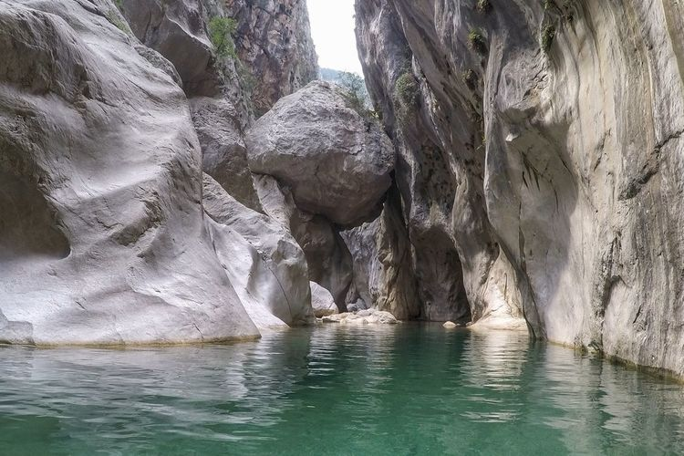 Canyoning Nature Photography Travel Photography Canyons Canyoning Naturelovers Canyon Hiking Goynuk Travelphotography Travel Around Water Reflections Rocks And Water Water Tree Sea Sky