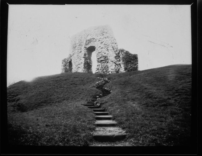 Black & White Ilford Obscura Film Photography Pinhole Photography Paper Negative Christchurch Castle Christchurch