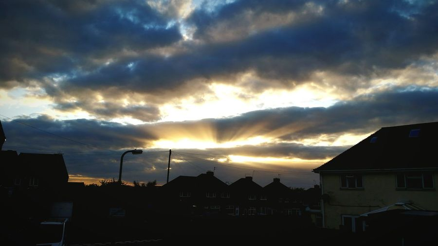 Eye4photography  Clouds And Sky Sunset #sun #clouds #skylovers #sky #nature #beautifulinnature #naturalbeauty #photography #landscape Sky And City