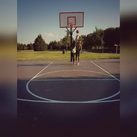 , basketball Sport Playing Court Basketball Hoop Mid-air Eyeemphotography EyeEm Best Edits