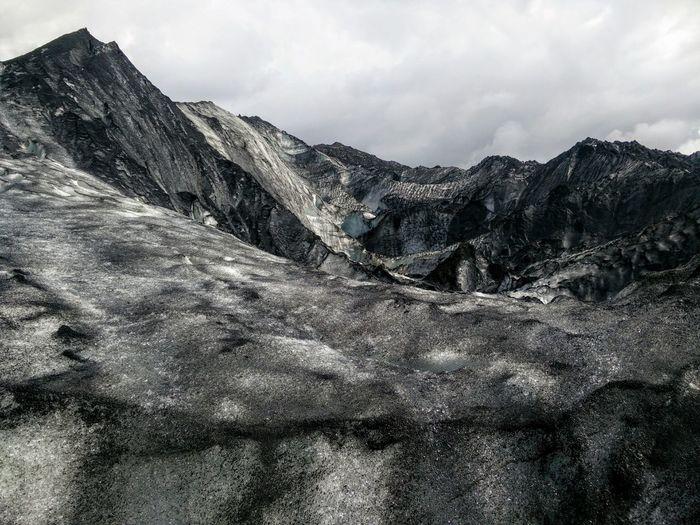 Grey Tranquility Non-urban Scene Outdoors Nature Glacier Gray Color Palette