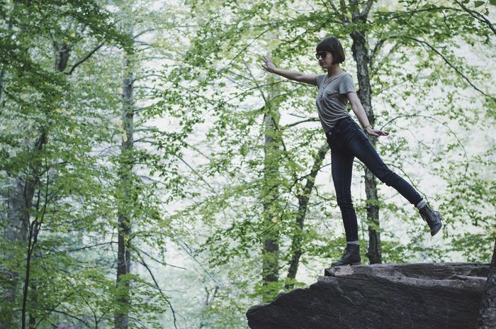 Catskills Nature Peoplephotography Capture The Moment Girl Selfportrait Traveling Eye4photography  Nature_collection Trees Vscocam