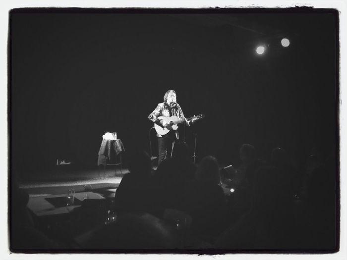 Jan Eggum på scenen