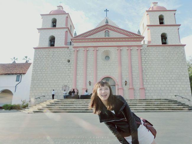 Mission La Santabarbara Santabarbaramission Losangeles Los Angeles, California LosAngelesCity California California Sunset Day Daily Life Daily Photo Church