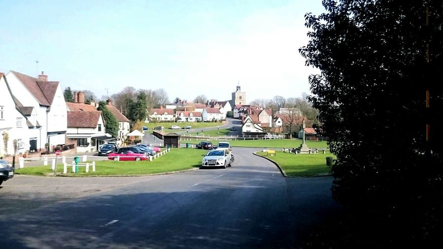 Quintessential Quintessentially English Village Life Essex Finchingfield Spring Day Beauty Beautiful Blue Sky Clearsky