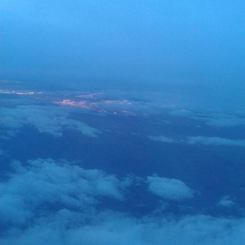 Quanto é bello ciò che si vede da un aereo? Me Aereo Paura Bellissimo primavoltafirsttimespainfromitalytoMadrid.