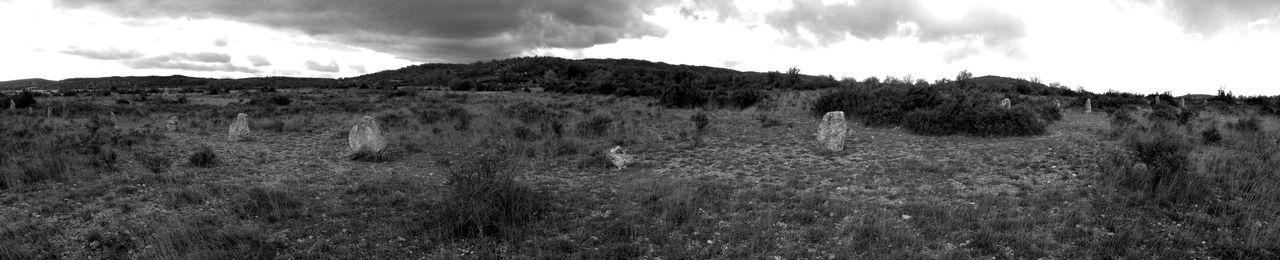 Nature Landscape No People Black & White Druid's Secret Place